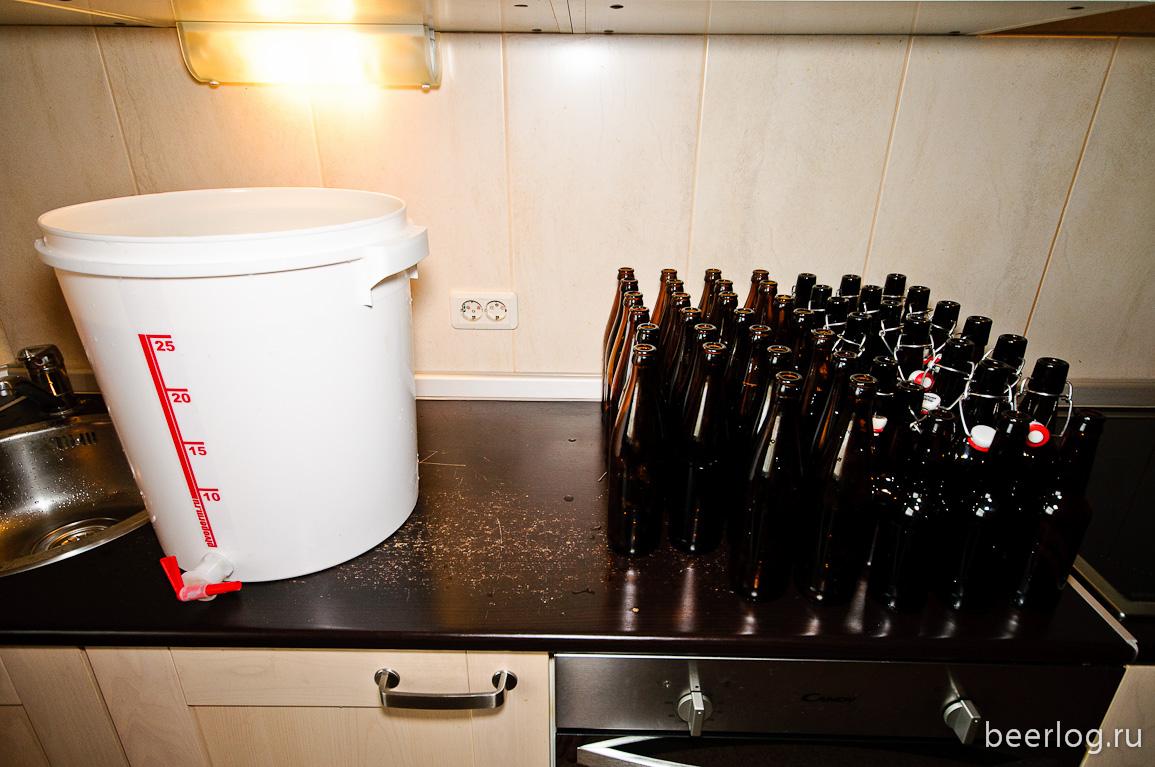Пиво в домашних условиях розлив