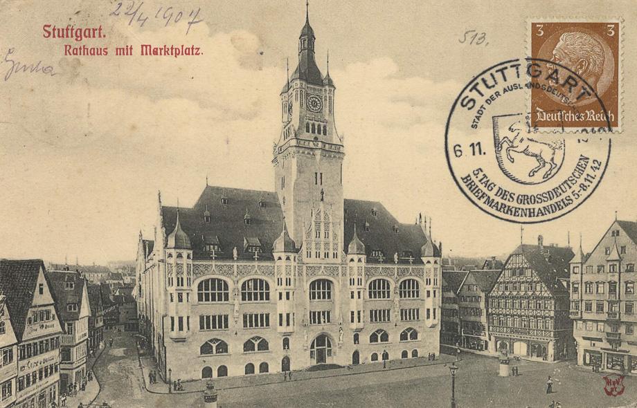 Stuttgart_Rathaus_Marktplatz_1907