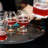 Дегустация фруктового пива от домашних пивоваров
