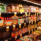 Выбор пива в калифорнийском магазине